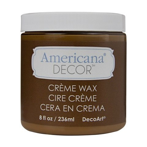 Americana Decor Golden Brown Creme Wax 473 ml
