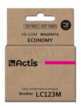 Actis tusz do Brother LC123M new KB-123M