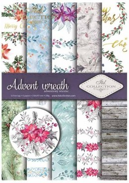 ".Papier do scrapbookingu SCRAP-020 ""Advent wreath"""