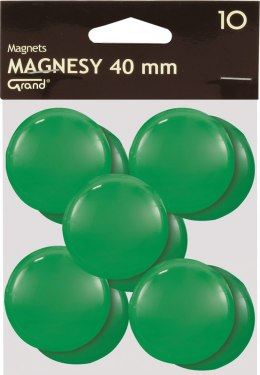 Magnesy 40mm zielone (10) Grand