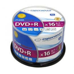 DVD+R 4,7GB x16 - Cake Box (50) Esperanza