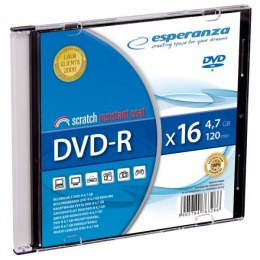 DVD-R 4,7GB x16 - Slim Esperanza